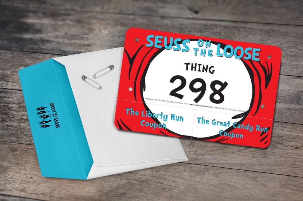 Dr. Seuss Racing Bib Design