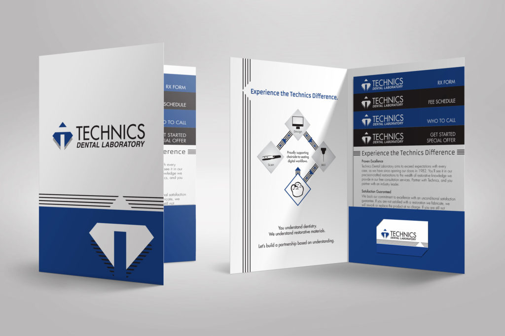 Technics Dental Laboratory Pocket Folder Set