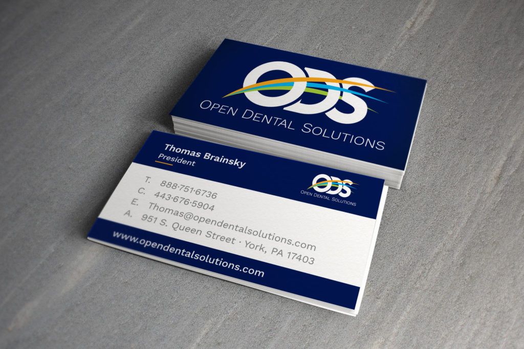 Open Dental Solutions Business Cards