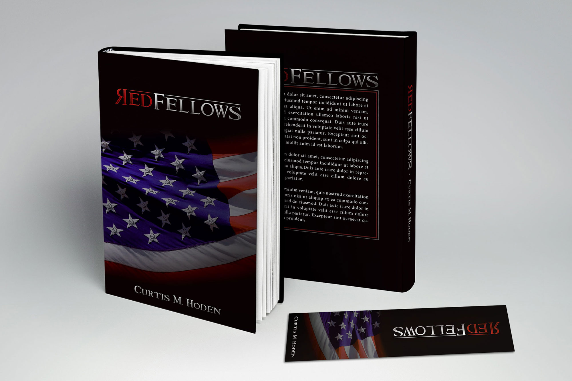 Red Fellow Book Cover Design