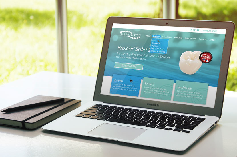 Burdette Dental Laboratory Website