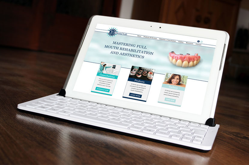 ID Dental Laboratory Website