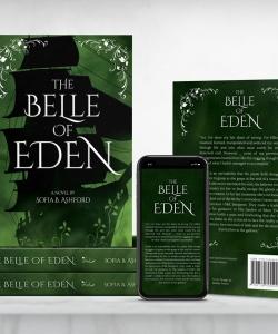 Belle-of-eden-Multi-Paperback-Stack-Presentation-w-phone