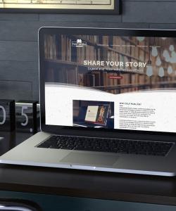 Pint Sized Press Website Design